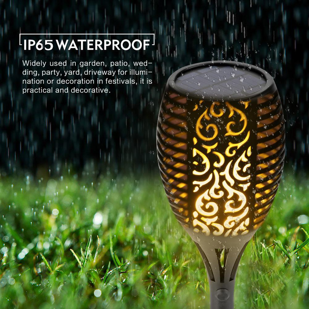 [해외]태양 불꽃 깜박 거리는 정원 LED 빛 IP65 야외 태양 tiki 횃불 빛 스포트 라이트 조 경 장식 led 램프/Solar Flame Flickering Garden LED light IP65 outdoor solar tiki torch light  Spot