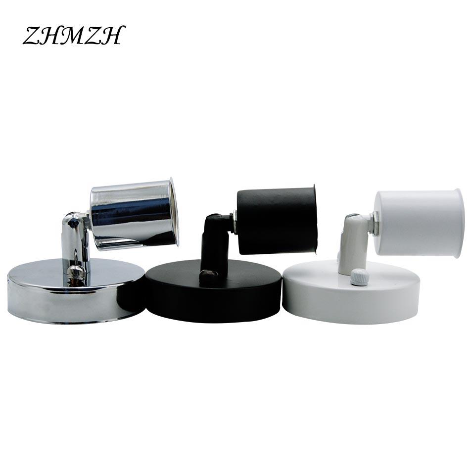 [해외]유니버셜 180도 조종 E14 E27 램프 홀더 고 내열 세라믹 나사 램프 받침대/Universal 180 Degree Steering E14 E27 Lamp Holder High temperature resistant ceramic screw Lamp Base