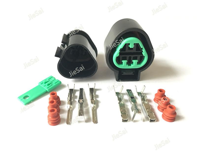 [해외]3 핀 KUM PB625-03027 PB621-03020 여성과 남성 자동 커넥터 헤드 라이트 소켓/3 Pin KUM PB625-03027 PB621-03020  Female And Male Auto Connector Headlight Socket
