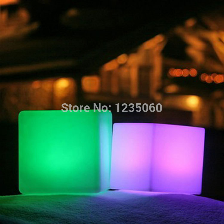 [해외]20cm 나이트 클럽 실외 장식 파티 LED 큐브 / LED 의자 / LED 바 테이블/20cm night club outdoor decoration party LED cube/LED chair/LED bar table