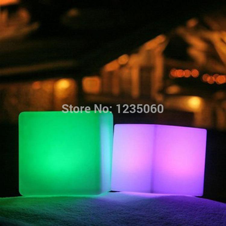 [해외]20cm 나이트 클럽 실외 장식 파티 LED 큐브 / LED 의자 / LED 바 테이블/20cm night club outdoor decoration party LED cube/LED chair/LED bar table