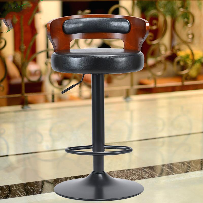 [해외]AMERICAN BAR CHAIR 레트로 유럽 바 의자 나무 의자는 단순한 높은 발 의자 특별 제공됩니다/AMERICAN BAR CHAIR Retro European bar stool wooden chairs are the simple high foot stoo
