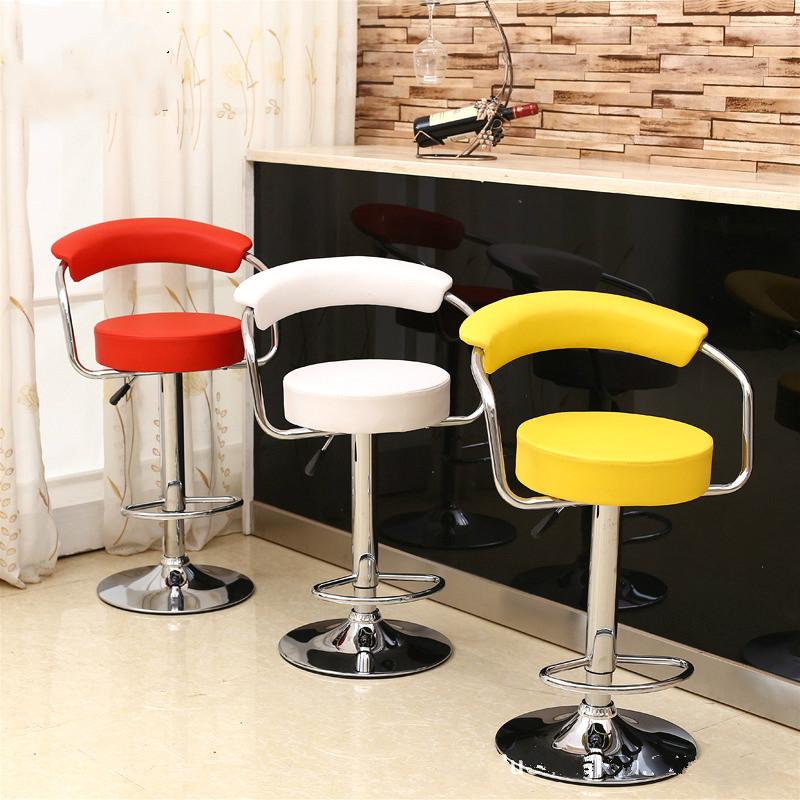 [해외]높은 품질 핫 세일 Liftable 바의 자 PU 가죽 바의 자 편안한 유럽 스타일의 높은 의자/High quality Hot Selling  Liftable Bar Chair PU Leather  Bar stool comfortable European styl