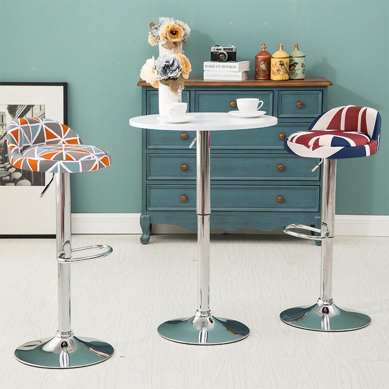 [해외]유럽의 간단한 패션 고품질 편안한 프런트 데스크 의자 리프팅 바 의자 의자 barstools/European simple fashion high quality comfortable the front desk chair lifting bar stool chair
