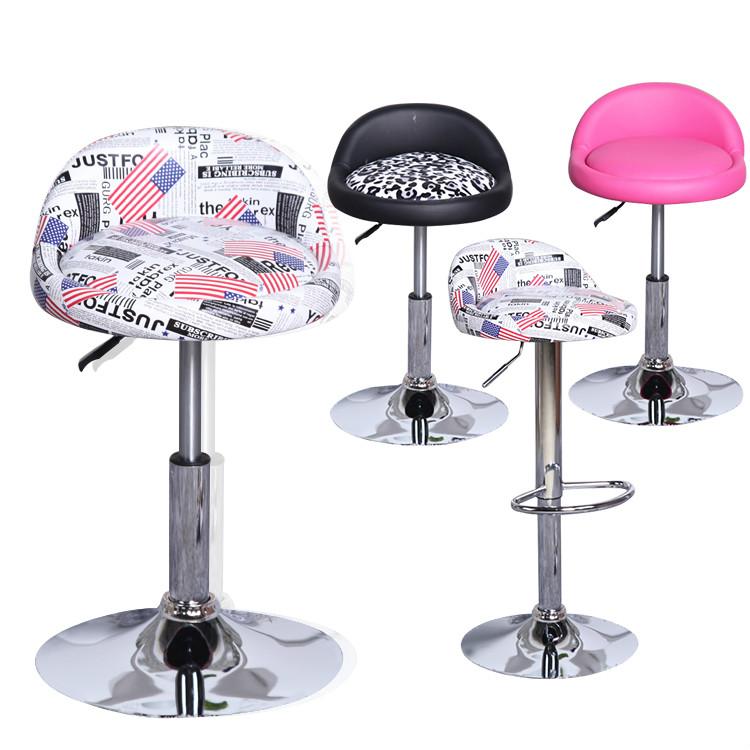 [해외]간단한 패션 바 의자 의자 매니큐어의 앞에 의자를 들고 리프팅 바 회전/Simple fashion bar stool chair  rotating  lifting bar stool in front of Manicure make up chair