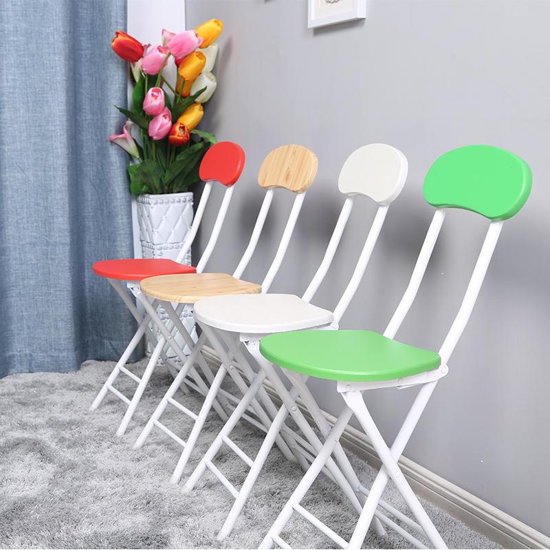 [해외]4pcs / lot 접는 의자 패션 식탁 의자 휴대용 야외 의자 현대 미니멀 한 사무실 회의 교육 의자/4pcs/ lot Folding chair fashion dining table stool portable outdoor chair modern minimal