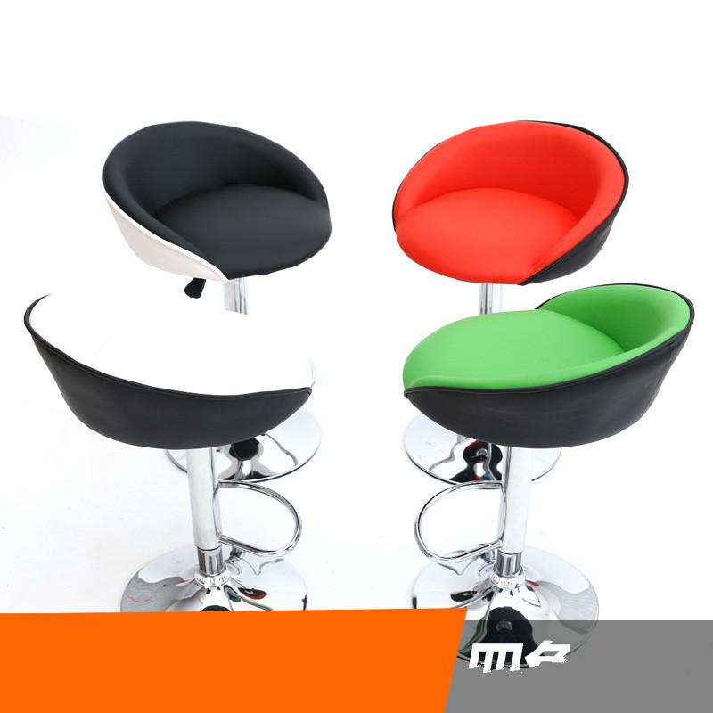 [해외]고급 가죽 의자 다기능 리프팅 회전 의자 현대 와인 바 의자/High-grade leather chairs multifunction lifting rotating chair modern wine bar stool
