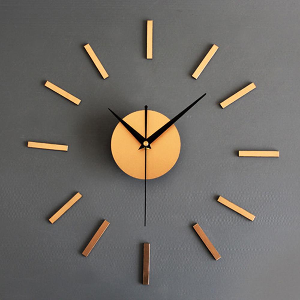 [해외]3D DIY 홈 장식 쿼츠 DIY 벽시계 시계 Horloge 시계 거실 금속 아크릴 거울 16 인치 세련 된 벽시계/3D DIY Home Decor Quartz Diy Wall Clock Clocks Horloge Watch Living Room Metal Ac