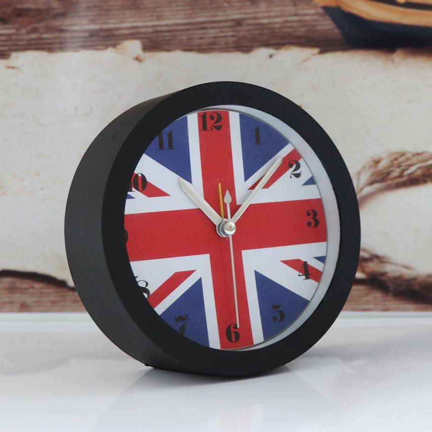 [해외]2017 새로운 자동 침묵 현대 우아한 벨 데스크 크리 에이 티브 디지털 알람 시계 BK S96/2017 NEW Silent Sweep Modern Graceful Bell Desk Creative Digital Alarm Clock BK S96