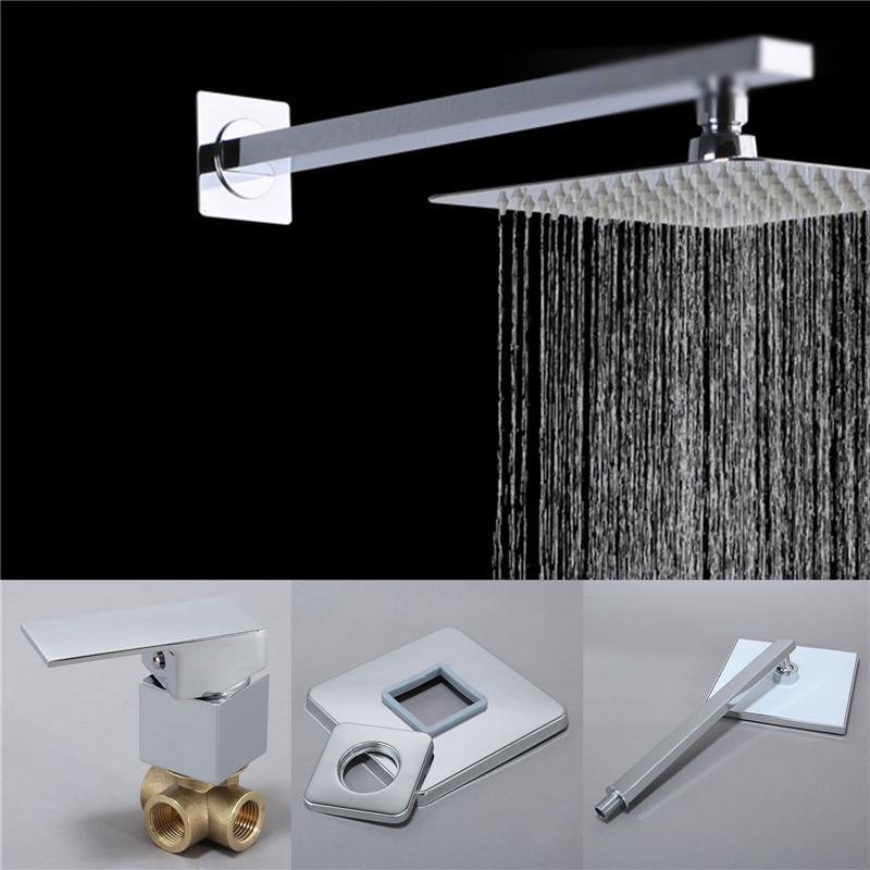 Luxury Gold Color Brass Round Shower Head Bathroom Rainfall Shower Head Hsh009