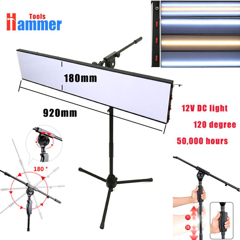[해외]?Paintless Dent 수리 도구 키트 램프 반사 형 Borde 12v PDR 램프 보드 조정할 수있는 브래킷/ Paintless Dent Repair Tool Kit Lamp Reflective Borde 12v PDR lamp Boardadjustabl