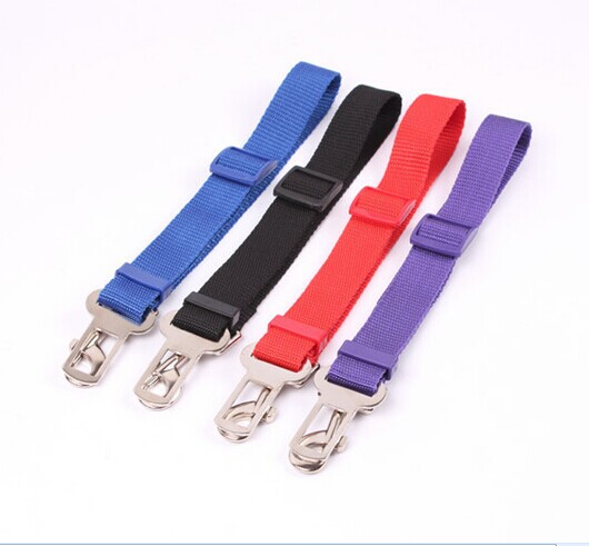 [해외]새로운 조절 가능한 애완 동물 자동차 안전 밧줄 안전 벨트 애완 동물 고양이 개를하네스 리드 클립 여행 자동차 안전 하네스/New Adjustable Pet Car Seat Safety Leash Seat belt Harness Lead Clip For Pet