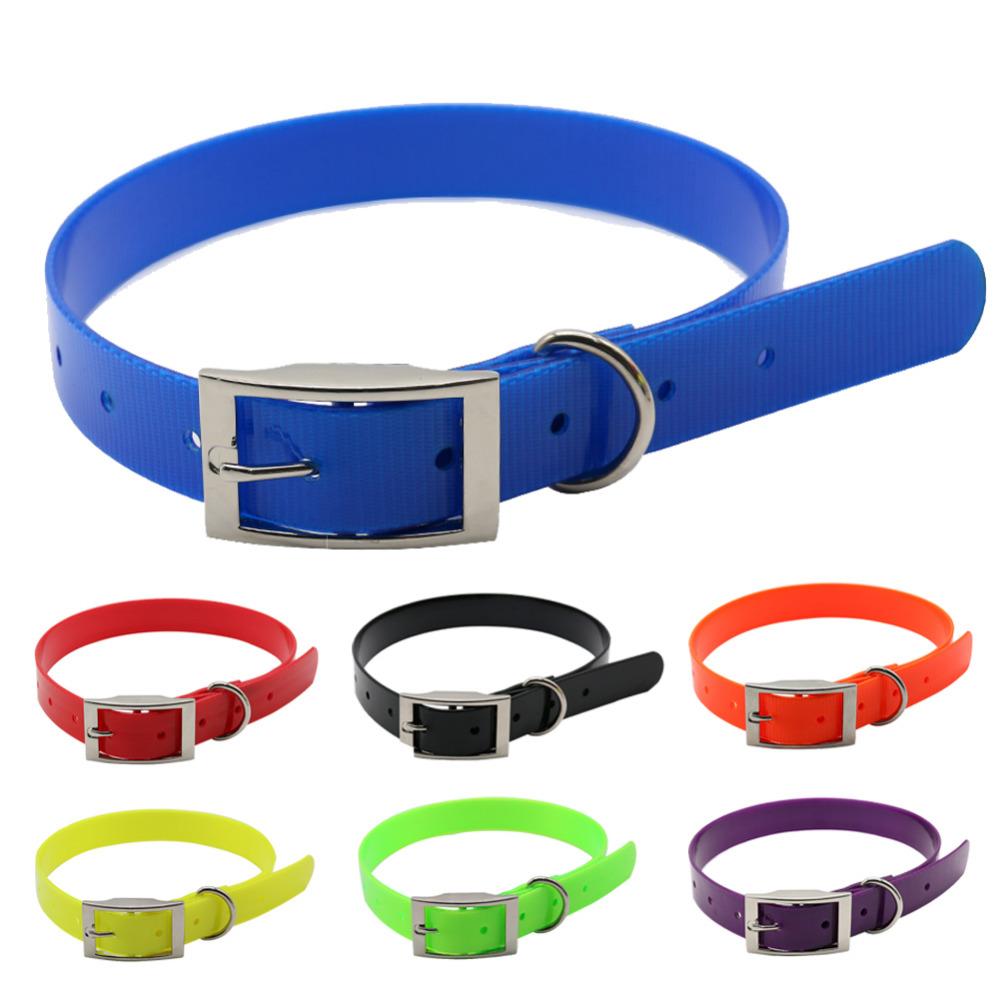 [해외]애완 동물 강아지 칼라 고품질 TPU + 나일론 밤 빛나는 반사 밤 안전 고리 방수 칼라 애완 동물 용품/pet dog collar High quality TPU+Nylon night glowing Reflective night Safety collars deo