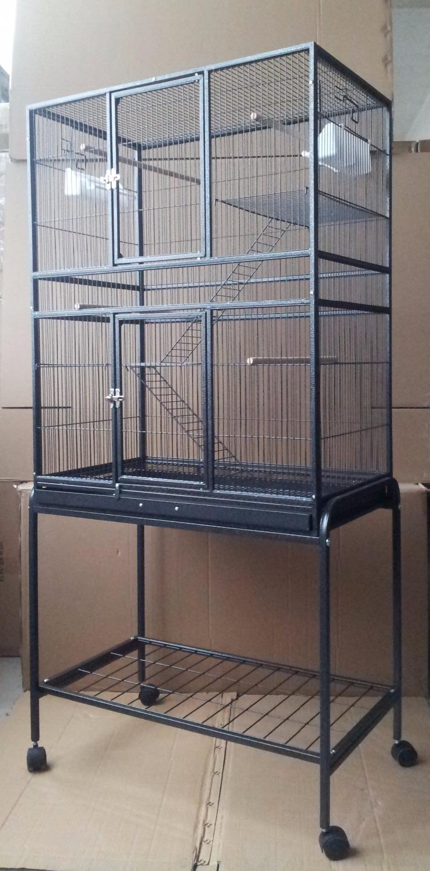 [해외]?미국에 새로운 큰 앵무새 우리 새는 Budgie Aviary CanaryWheels 162cm B48X/ To USA New Large Parrot Cage Bird Budgie Aviary CanaryWheels 162cm B48X