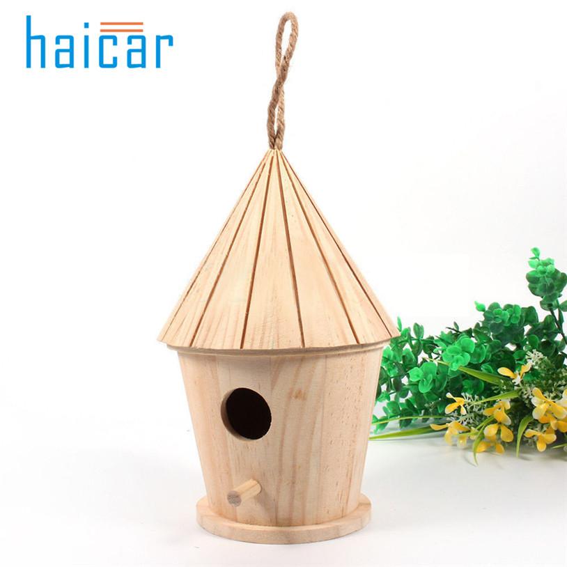 [해외]나무 정원 조류 케이지 둥지 새 집 u70904/Wooden garden Bird Cages Nests bird house u70904
