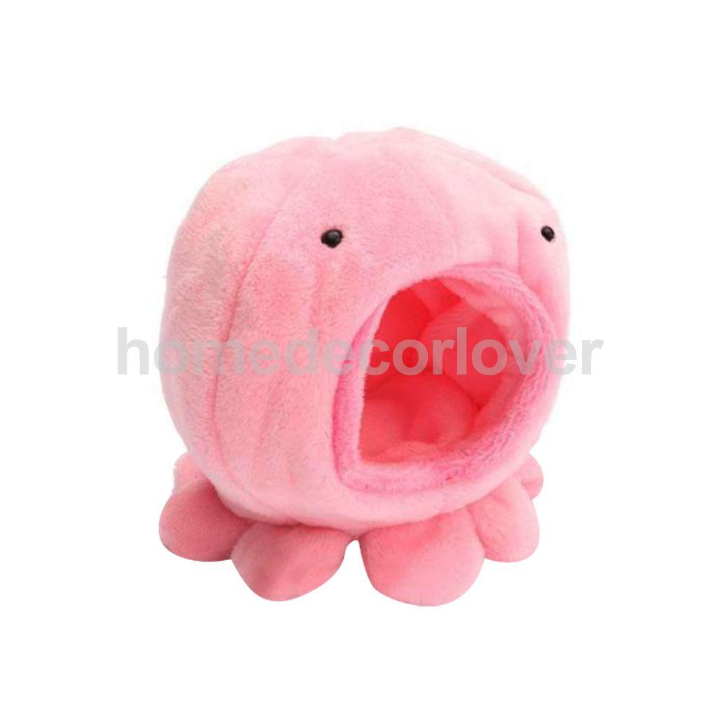 [해외]문어 모양의 햄스터 햄스터 다람쥐 따뜻한 부드러운 침대 애완 동물 장난감 하우스 케이지 피킹/Octopus Shape Rat Hamster Bird Squirrel Warm Soft Bed Pet Toy House Cage PICK