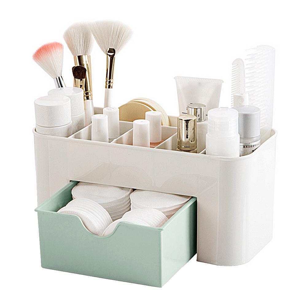 [해외]베토가르 메이크업 Organizer 보관 케이스 보관함 화장품 용기 및 서랍 메이크업 화장품 쥬얼리 립스틱 아이 섀도우 브러쉬 공예/Behogar Makeup Organizer Holder Storage Case Boxes Container &Drawer