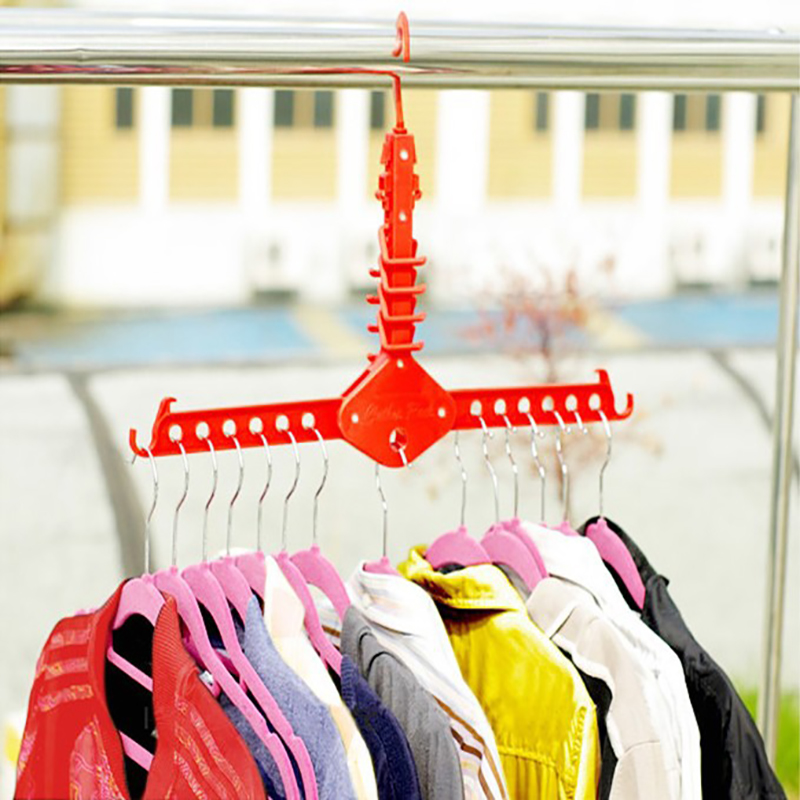 [해외]?플라스틱 옷장 선반 다기능 매직 걸이 건조 랙/ Plastic Clothes Storage Racks Multifunctional Magic  Hanger Drying Racks