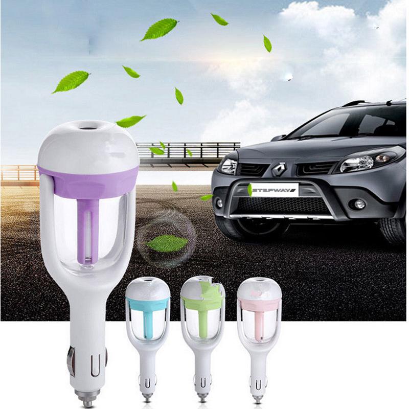 [해외]자동차 오일 디퓨저 아로마 테라피 공기 청정기 안개 제조기 안개 차 가습기 에어 정수기 아로마 디퓨저 에센셜/Car oil diffuser Aromatherapy air freshener Mist Maker Fogger Car Humidifier Air Puri