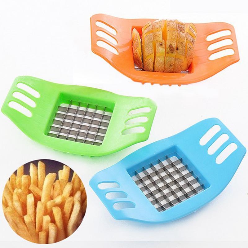 [해외]?실용적인 감자 커터 바 컷 감자 칩 그라인딩 커팅 감자 파쇄 도구 야채 절삭 수동 장치/ Practical Potatoes Cutters Bar Cut Potato Chip Grinding Cutting Potato Shred Tools Vegetable Cu