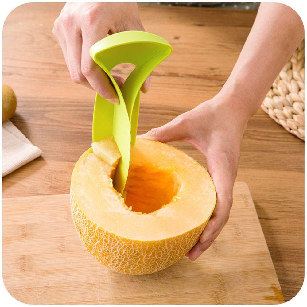 [해외]다기능 커터 Peelers Cantaloupe 단 물 멜론 슬라이서 컷 장치 크리 에이 티브 과일 나이프 주방 도구/Multifunction Cutter Peelers Cantaloupe Honeydew Melon Slicer Cut Device Creative