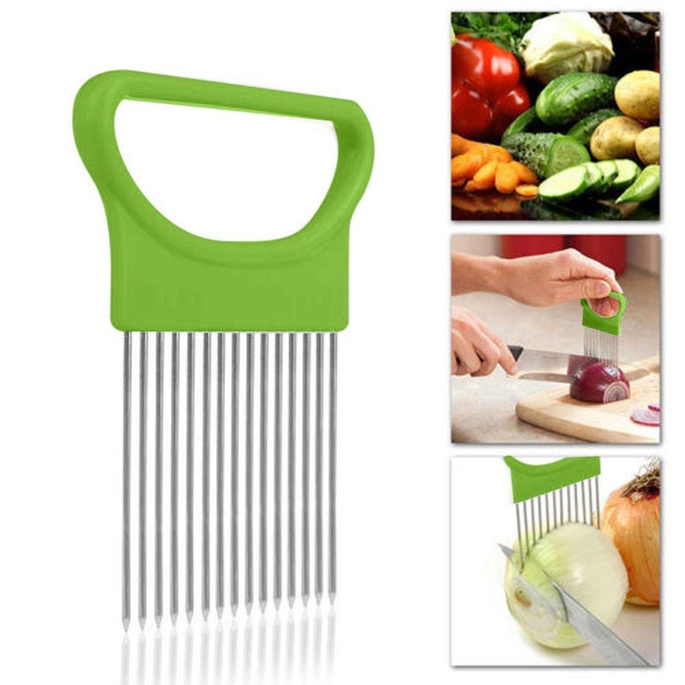 [해외]올인원 슬라이스 용 양파 홀더 | 감자 소지자 | 토마토 홀더 | 다목적 주방 안내 야채 감자 커터 슬라이서/Onion Holder for Slicing All-In-One | Potato Holder | Tomato Holder | Multipurpose Ki