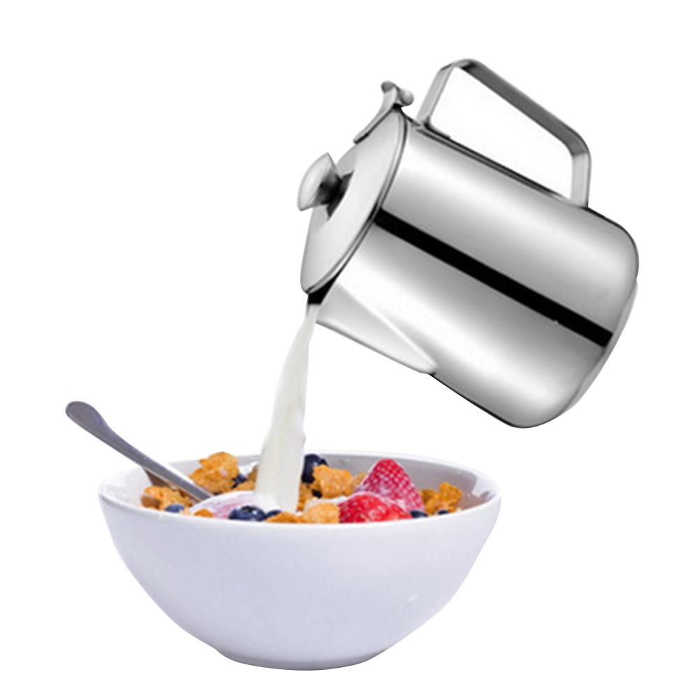 [해외]두꺼운 스테인리스 에스프레소 커피 우유 컵 Caneca 차 주전자 온도 컵 뚜껑 350ml / 600ml / 1000ml/Thickened Stainless Steel Espresso Coffee Milk Mug Caneca Tea Jug Kitchen Ther