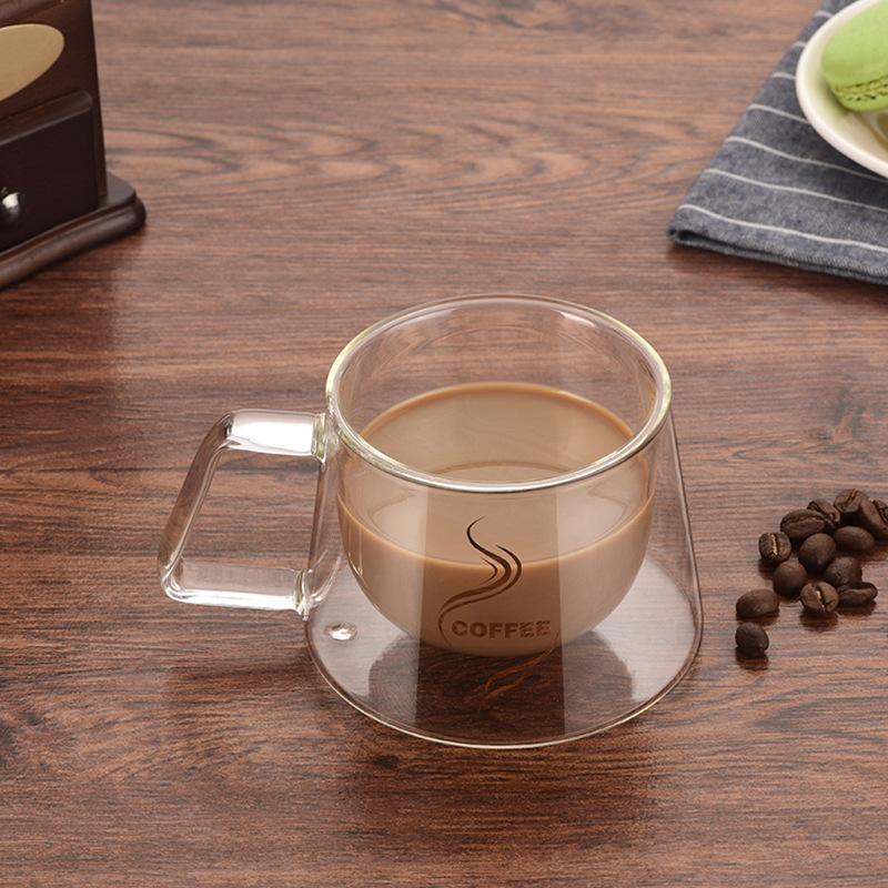 [해외]IVYSHION 패션 더블 벽 낯 짝 사무 머그컵 단열 더블 커피 머그잔 커피 컵 Drinkware/IVYSHION Fashion  Double Wall Mug Office Mugs Heat Insulation Double Coffee Mug Coffee Cup