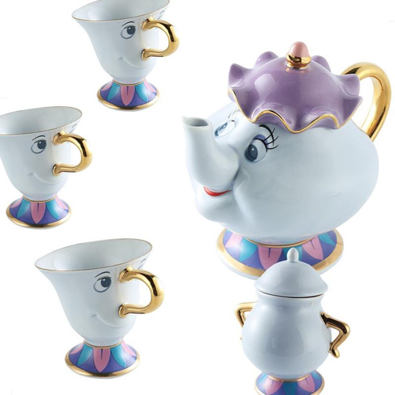 [해외]이전 스타일 미녀와 야수 부인 Potts & son : 칩 만 머그잔 차 컵 러블리 생일 CUTE 선물/Old style Beauty and the Beast Mrs Potts& son : Chip Only Mug Tea Coffee Cup Lovely