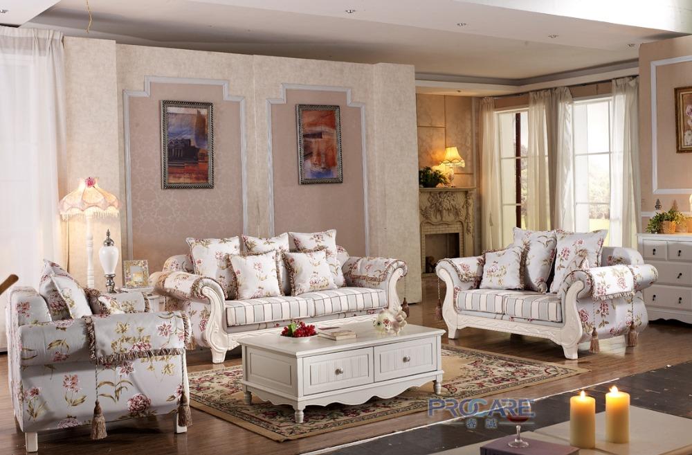 [해외]2016 실물 No 직물 Beanbag Chaise 꽃 무늬 소파 세트 3 + 2 + 1 Seater에서 모던 한 미국식 거실 Funiture/2016  Real No Fabric Beanbag Chaise Modern American Living Room Fu