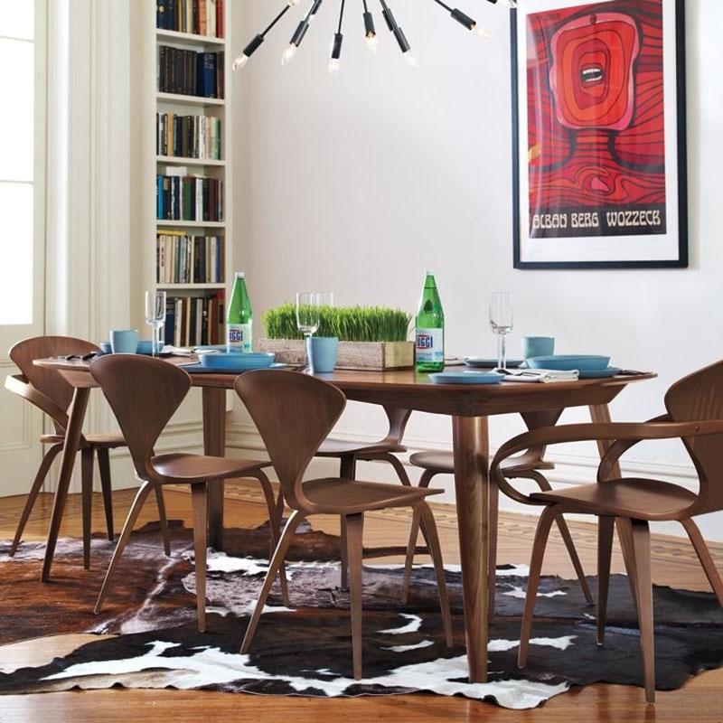 [해외]CH177 자연 사이드 의자 호두 또는 애쉬 나무 노먼 Cherner 의자 합판 의자 레드 블랙 화이트 식사 의자/CH177 Wholesale Natural side chair walnut or ash wooden Norman Cherner Chair Plywo
