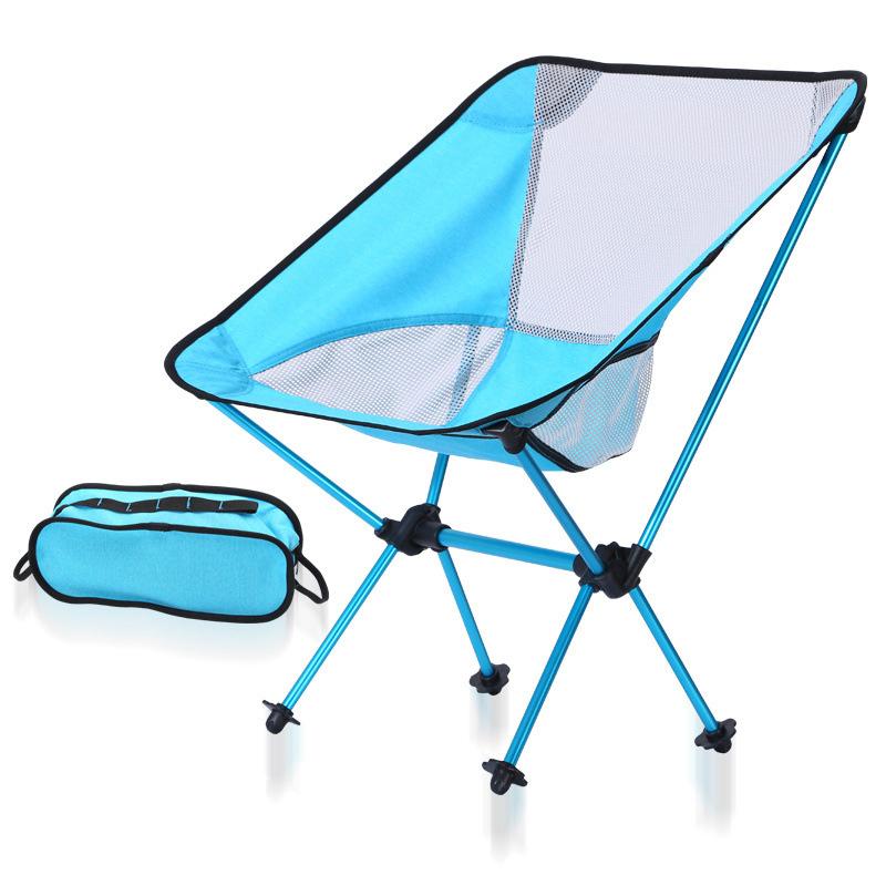 [해외]7 선택적 색상 낚시 문 자 보라색 안정적인 캠핑 접는 야외 가구 휴대용 울트라 라이트 체어 0.9 KG/7 Optional Colors Fishing Moon Chair Purple Stable Camping Folding Outdoor Furniture Po