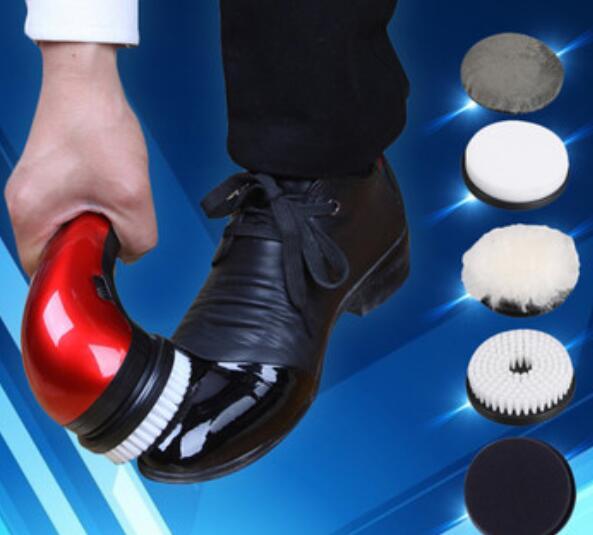 [해외] 다기능 가정용 자동 전기 신발 클리너 가죽 케어 가루 기계/Free shipping   Multifunctional household automatic electric shoe cleaner leather care dusting machine