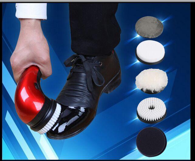 [해외]구두 광택제 전기 미니 휴대용 가죽 연마 장비 자동 청소 시스템을 2016household/Shoe polisher electric mini 2016household portable Leather Polishing Equipment automatic clean