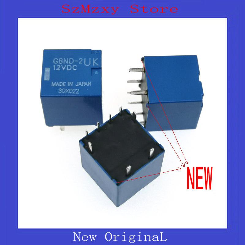 [해외]1PCS 새로운 자동 릴레이 G8ND-2UK-12VDC G8ND-2UK 12VDC 12V DIP8 G8ND/1PCS NEW Auto Relay G8ND-2UK-12VDC G8ND-2UK 12VDC 12V DIP8 G8ND