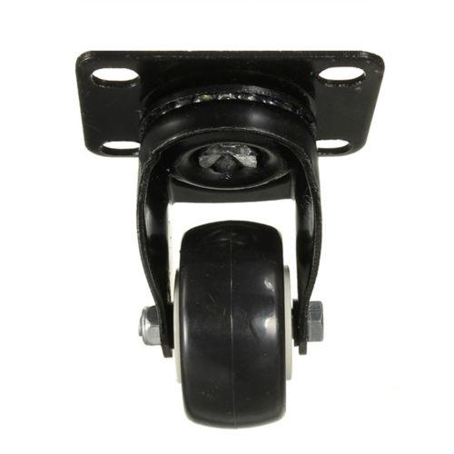 [해외]DSHA 새로운 Hot 4 PC 헤비 듀티 200kg 50mm 회전 캐스터 휠 트롤리 가구 캐스터 고무/DSHA New Hot 4 pcs Heavy Duty 200kg 50mm Swivel Castor Wheels Trolley Furniture Caster R