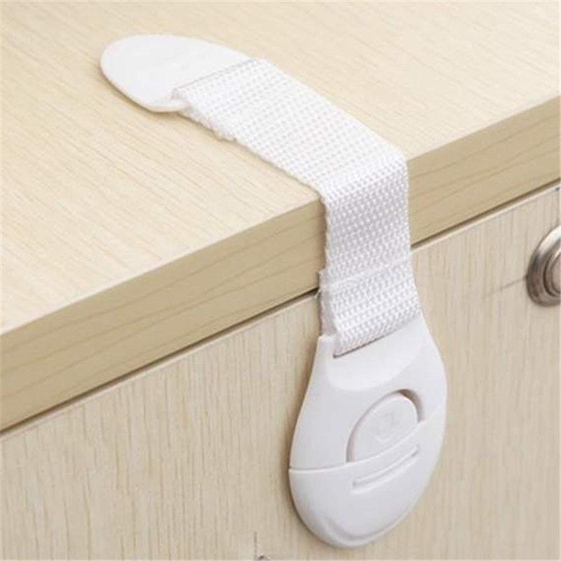 [해외]10 개 캐비닛 도어 서랍 냉장고 화장실 아기 키즈 안전을연장 된 벤디 안전 플라스틱 자물쇠/10 Pcs Cabinet Door Drawers Refrigerator Toilet Lengthened Bendy Safety Plastic Locks For Chil