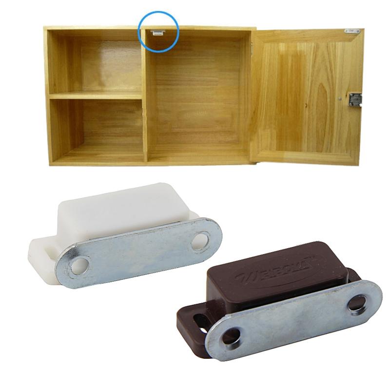 [해외]10pcs 작은 자기 문은 부엌 찬장 옷장 내각 래치 캐치를 잡는다/10Pcs Small Magnetic Door Catches Kitchen Cupboard Wardrobe Cabinet Latch Catch