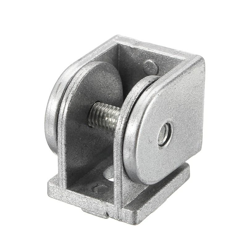 [해외]Suleve 2PCS 경첩 산업 조정 가능한 각 연결 관 아연 합금 20x20mm/Suleve 2Pcs Hinge Industrial Adjustable Angle Connector Zinc Alloy 20x20mm