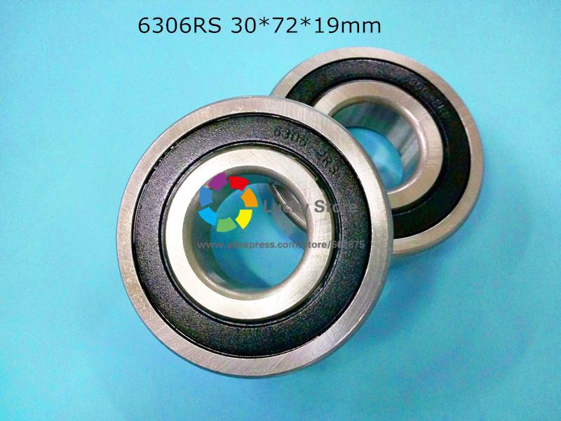 [해외]6306RS 1Piece는 6306 6306RS 30 * 72 * 19mm 크롬 강철 깊은..