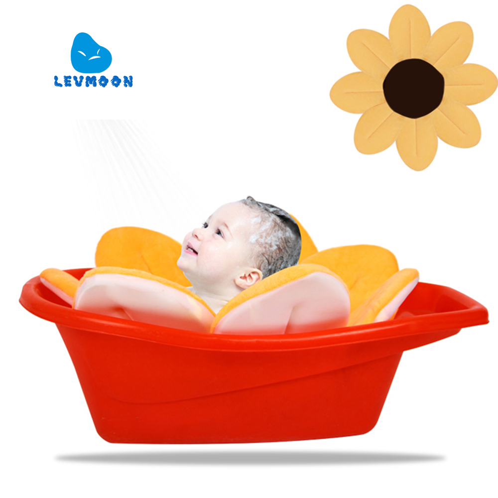 [해외]Levmoon Blooming 목욕 싱크대 어린 이용 유아용 플라워 매트 Spar 8 색/Levmoon Blooming Bath  Sink Bath For child Infant Flower Mat Spar 8 colors