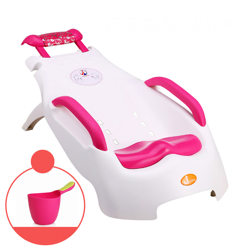 [해외]어린이 샴푸 의자 초대형 접이식 조절 가능 베이비 샴푸 의자 유아 샴푸 라운지/Children Shampoo Chair Extra Large Foldable Adjustable Baby Shampoo Chair Infant Shampoo Lounger