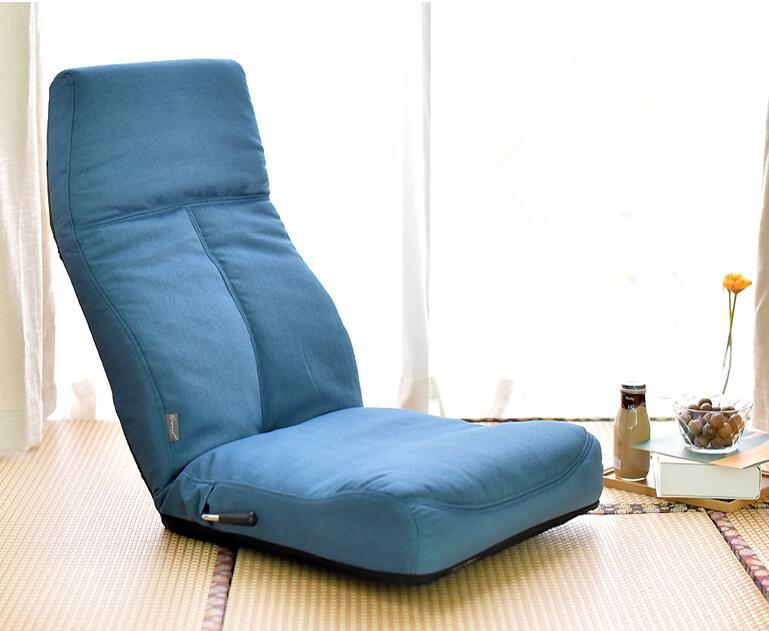 [해외]조정 가능한 14 위치 바닥 무자 의자 접는 게으른 소파 층 소파 의자 쿠션 거실 가구 비디오 게임 의자/Adjustable 14-Position Floor Legless Chair Folding Lazy Sofa Floor Sofa Chair Cushion L