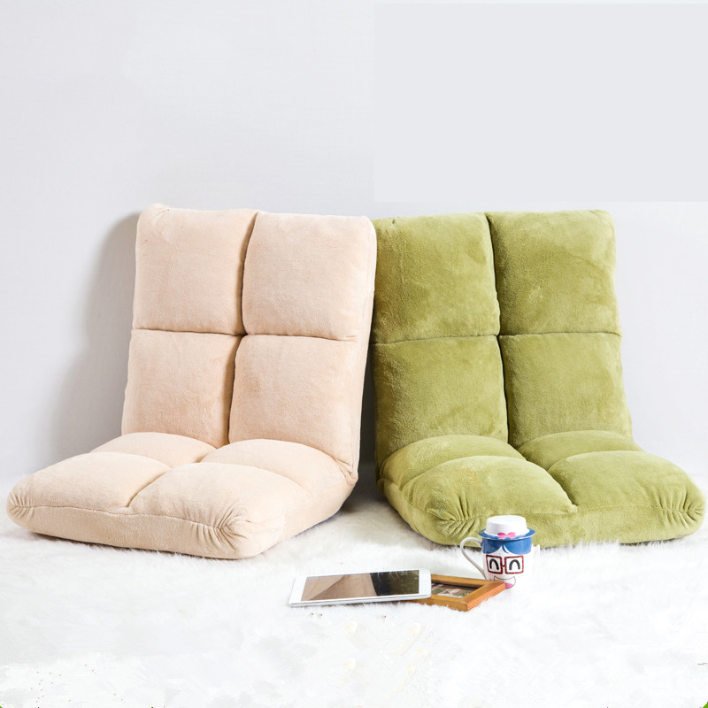 [해외]거실 접이식 플로어 의자 좌석 가구 4 색 아름다운 일본 Reclining & Zaisu & Seat Adjustable Lazy Sofa Chair/Living Room Foldable Floor Chair Seating Furniture 4 C