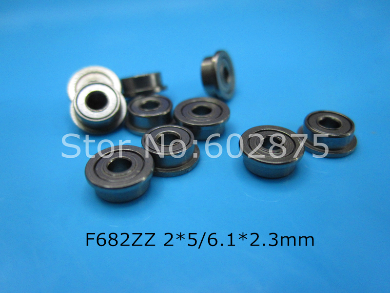 [해외]F682ZZ 베어링 682 F682 F682Z F682ZZ 2 * 5 & 6.1 * 2.3mm 크롬 강 깊은 홈 베어링/F682ZZ bearing  682 F682 F682Z F682ZZ 2*5&6.1*2.3mm chrome steel deep g