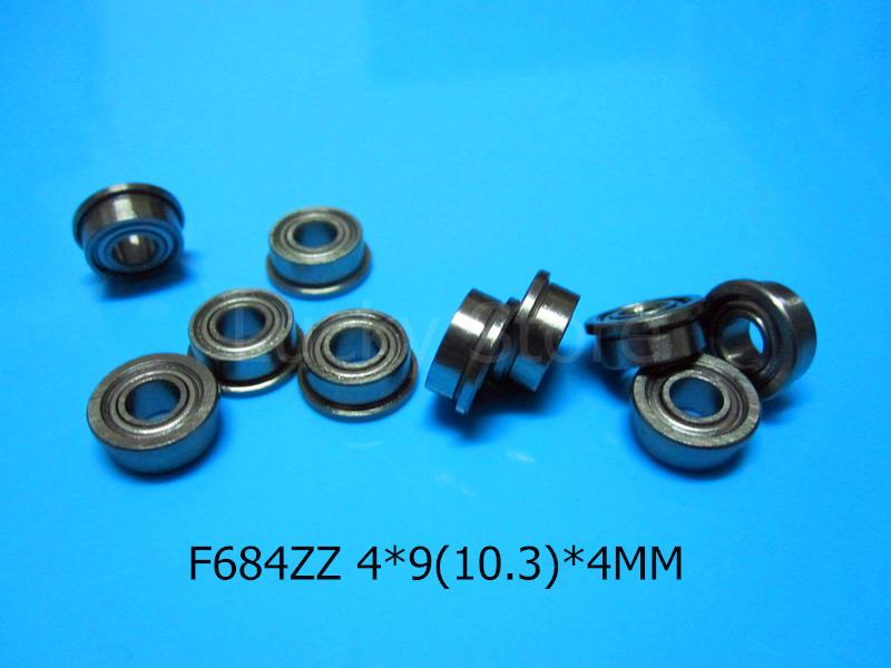 [해외]F684ZZ 플랜지 베어링 684 F684 F684Z F684ZZ 4 * 9 & 10.3 * 4mm 크롬 강 깊은 홈 베어링/F684ZZ Flange bearings 684 F684 F684Z F684ZZ 4*9&10.3*4mm chrome ste