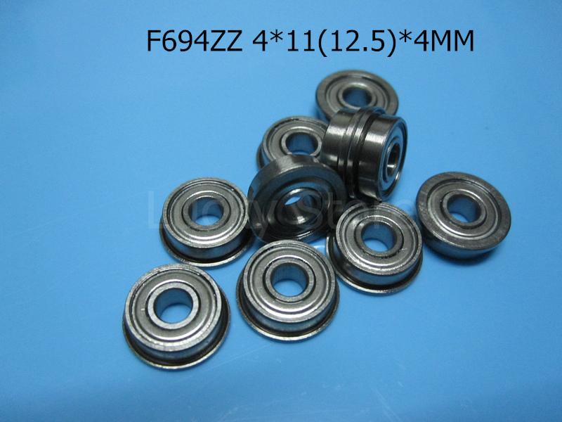 [해외]F694ZZ 플랜지 베어링 694 F694Z F694ZZ 4 * 11 및 12.5 * 4 MM 크롬 강철 깊은 홈 베어링/F694ZZ Flange bearings  694 F694Z F694ZZ 4*11&12.5*4 MM chrome steel deep