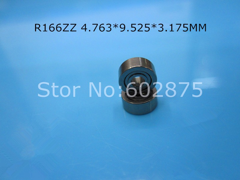 [해외]R166ZZ 베어링 10pcs 소형 미니 베어링 크롬 강철 베어링 R166 R166ZZ 4.763 * 9.525 * 3.175mm/R166ZZ bearing 10pcs Miniature Mini Bearing chrome steel bearing R166 R16