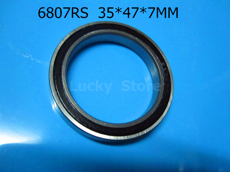 [해외]6807RS 1PC 베어링 금속 밀폐 베어링 6807 6807RS 35 * 47 * 7 mm 크롬 강 깊은 홈 베어링/6807RS 1PC bearing Metal sealed bearing  6807 6807RS 35*47*7 mm chrome steel dee