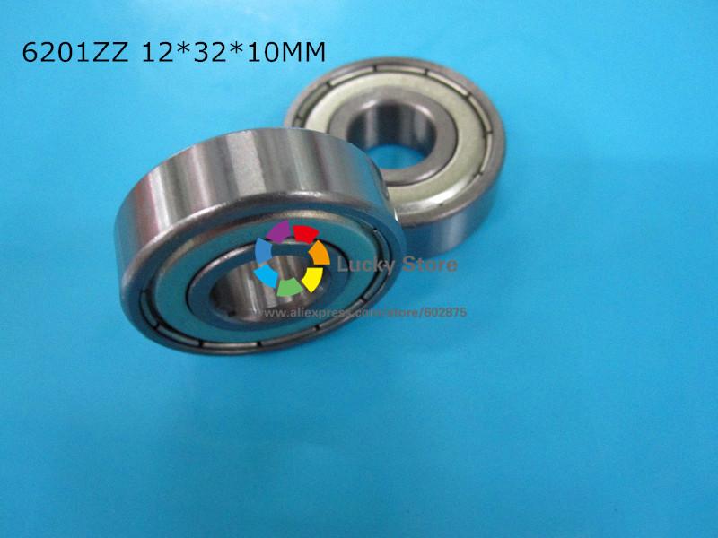 [해외]6201ZZ 1PC 담지 금속 밀봉 베어링 6201 6201Z 6201ZZ 12 * 32 * 10mm 크롬강 깊은 홈 베어링/6201ZZ 1PC bearing metal sealing bearings 6201 6201Z 6201ZZ 12*32*10mm chrom
